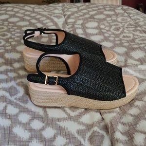 Shoes - Summer platform espadrilles